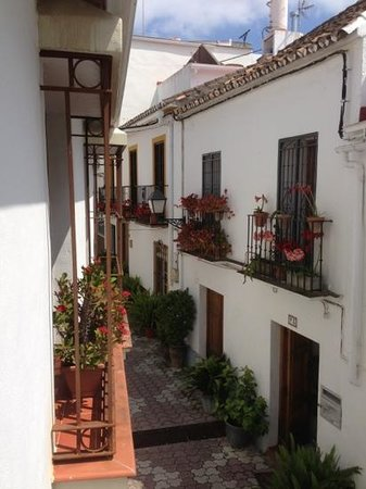 La Villa Marbella - Charming Hotel: view from our window