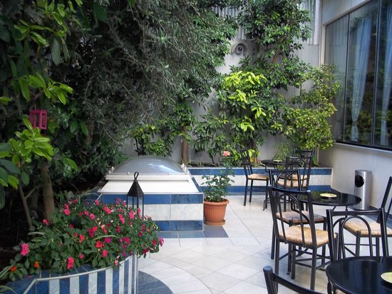 Centrotel Hotel: centrotel backyard