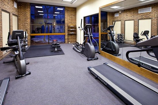Holiday Inn Ann Arbor / University of Michigan : Fitness Center 