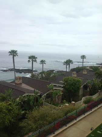 Montage Laguna Beach: View from the Balcony - 4th floor, south wing.