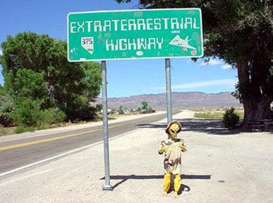 ‪‪Tonopah‬, نيفادا: ET Highway and Area 51‬
