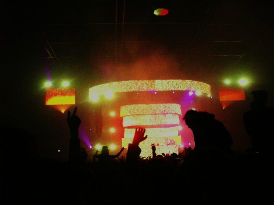 Bellevue Hotel: Swedish House Mafia @ Ziggo Dome 12.12.12