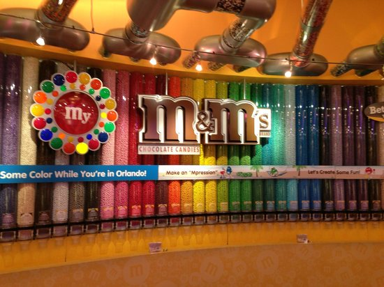 The Florida Hotel and Conference Center: M & M Store