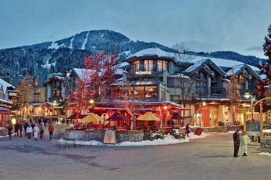 Crystal Lodge Hotel: Crystal Winter Dusk
