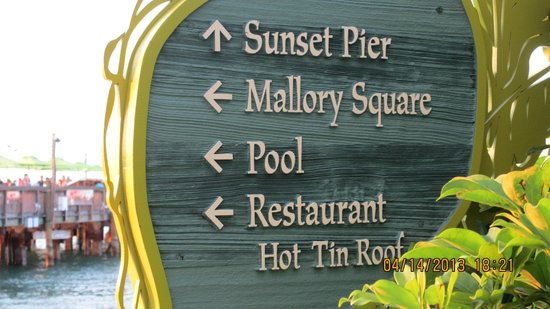 Ocean Key Resort &amp; Spa: Where to go first?