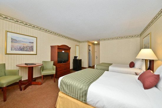 BEST WESTERN PLUS Freeport Inn: Two Doubles Guest Room in Topside Building