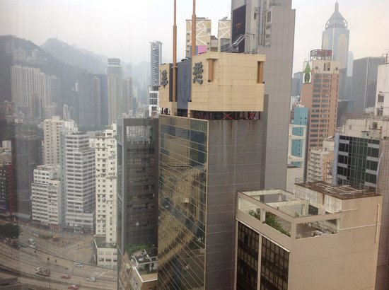 Crowne Plaza Hotel Hong Kong Causeway Bay: View from the Room