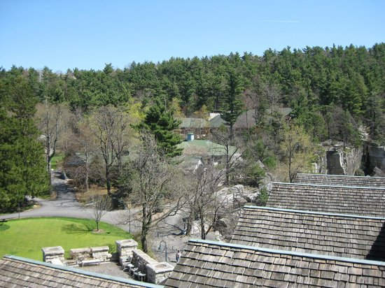 Mohonk Mountain House: landscape