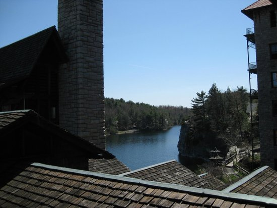 Mohonk Mountain House: a peak through the gables
