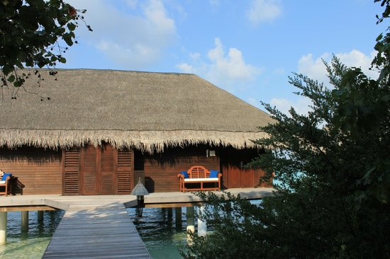 Taj Exotica Resort &amp; Spa: View of our room as you approach (two per building)
