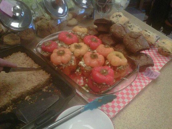 Perth, Canada: stuffed peppers !!! yummmyy