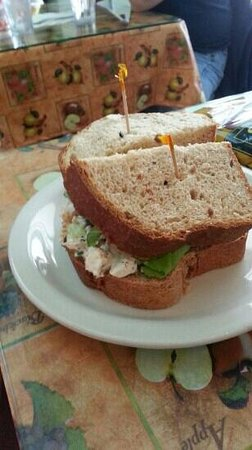 Emporia, Kansas: Chicken Salad Sandwich