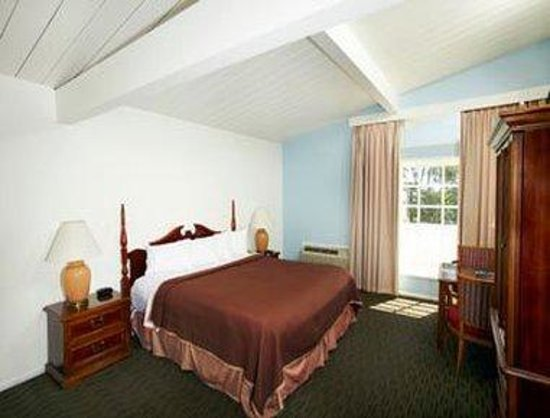 Travelodge Laguna Beach: Ocean View 1 King Bed Room
