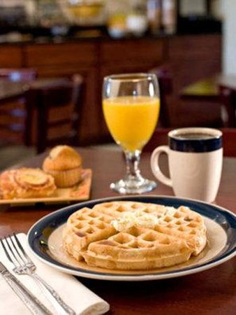 BEST WESTERN Bayou Inn: Small Sample of Your Breakfast on the Bayou
