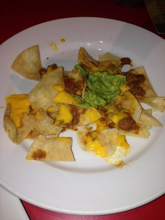 Oasis Cancun: disgusting nachos
