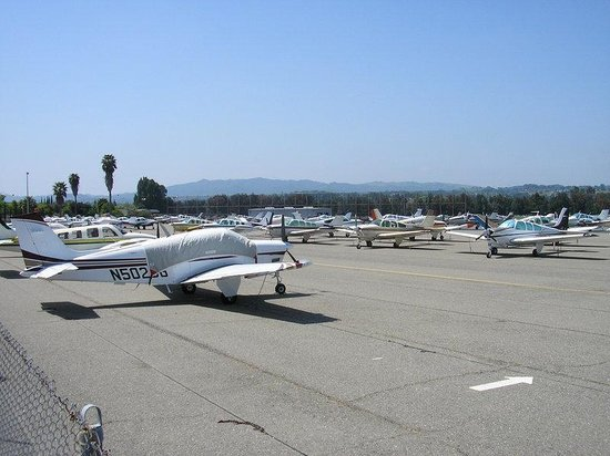 Concord, Californie : Parking for Private planes 