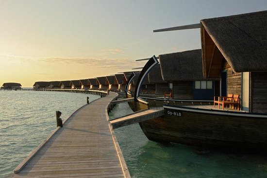 Cocoa Island by COMO: Dhoni Suites Walkway