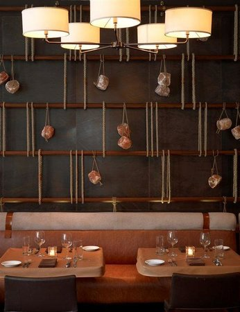 The James Chicago: David Burke&#39;s Primehouse_Salt Wall