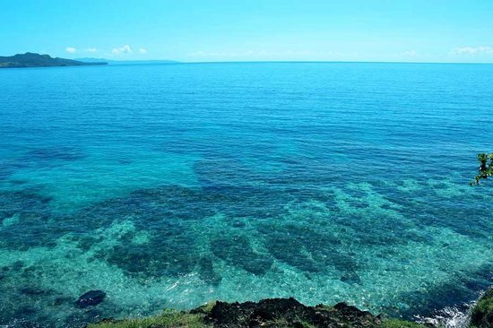 Vanua Levu, Fiji: House reef for snorkeling right off the beach