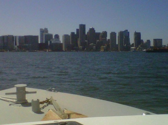Water Taxi to Boston Harbor Hotel --- Awesome!