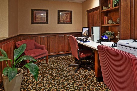 Holiday Inn Express & Suites Research Triangle Park: Get work done on the road in our business center.