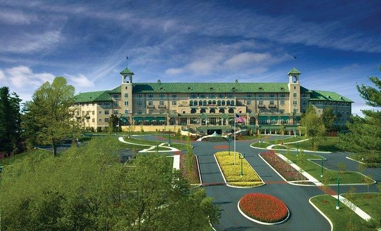 The Hotel Hershey: Exterior