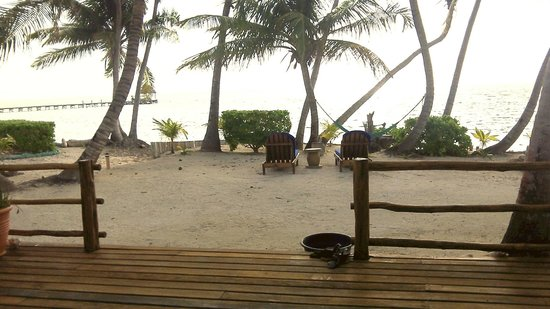 La Perla Del Caribe: View from the front door