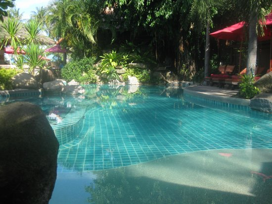Rocky&#39;s Boutique Resort: Pool am Strand
