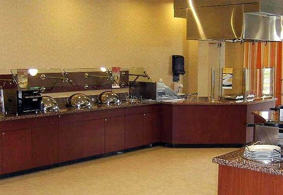 Courtyard by Marriott Winchester: Courtyard Caf Buffet