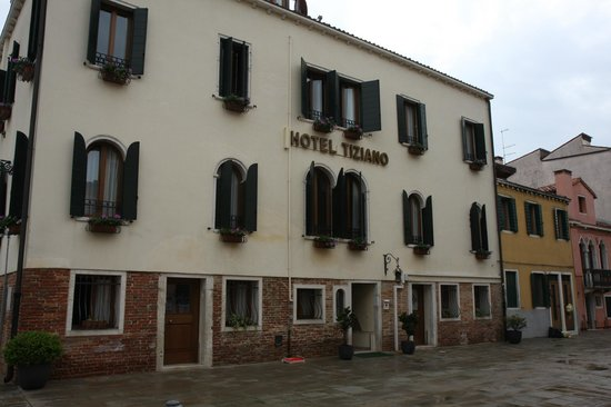Hotel Tiziano : Extrieur de l&#39;htel 