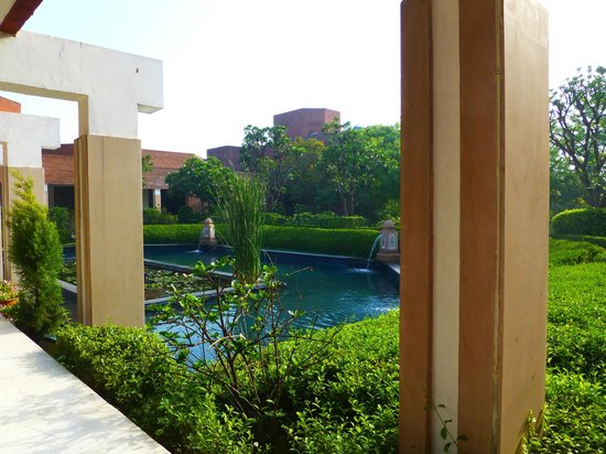 ITC Mughal, Agra: View of the gardens