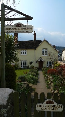 Dunster, UK: Besser als bei Muttern
