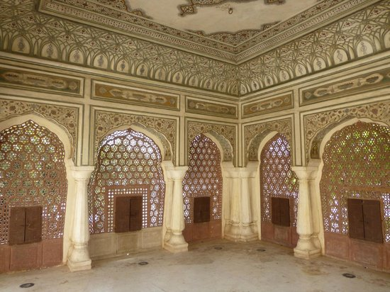 Interior View Picture Of Hawa Mahal Palace Of Wind