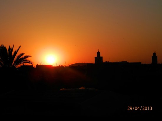Bellamane, Ryad &amp; Spa: Sunset from the roof