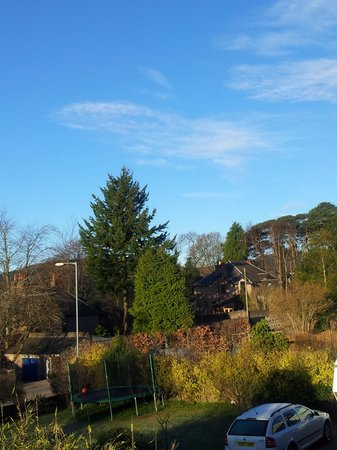 Banchory, UK: View from property at 6am in the morning
