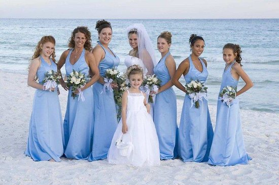 Embassy Suites Destin - Miramar Beach : Beach Wedding 