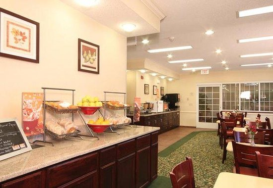 Fairfield Inn Albany SUNY: Breakfast Area