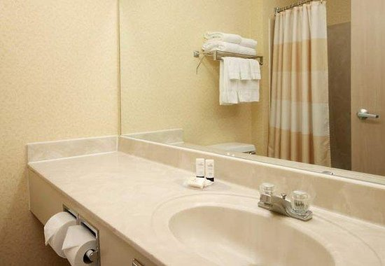 Fairfield Inn Chicago Gurnee : Guest Bathroom