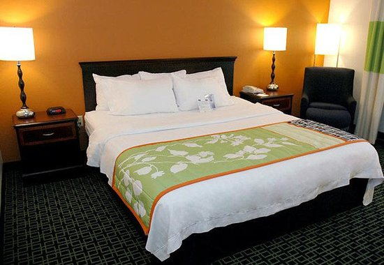 Fairfield Inn Kansas City Downtown / Union Hill: King Guest Room
