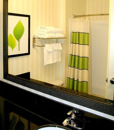 Fairfield Inn & Suites Billings : Guest Bathroom