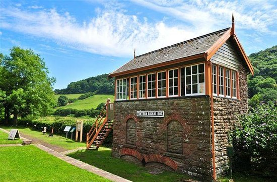 Signal Box Old Station Tintern Craft & Art