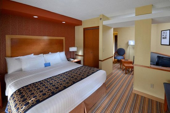Fairfield Inn &amp; Suites Charlottesville North: KingSuite2