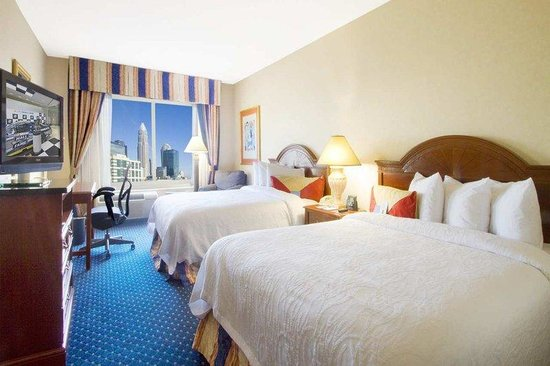Hilton Garden Inn Charlotte Uptown: Two Queen Beds