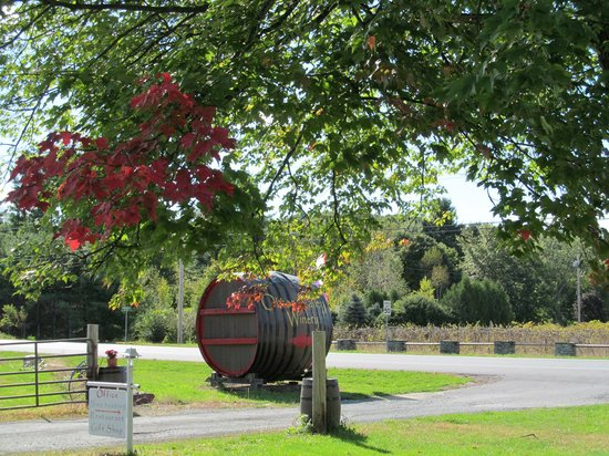 Brandon, VT: The largest wine cask in the state of Vermont
