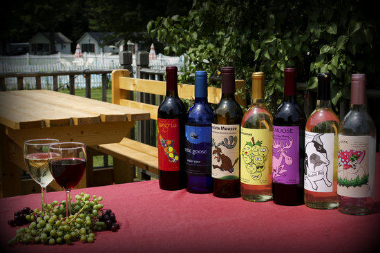 Brandon, VT: Otter Valley Winery wines