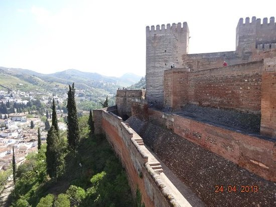 Hotel Casa Morisca: La Alhambra an view of Old Granada