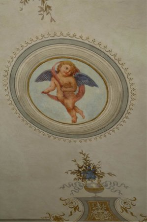 Antica Residenza Cicogna : central ceiling painting 