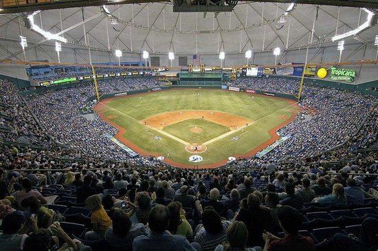 Hilton St Petersburg Bayfront: Tropicana Field