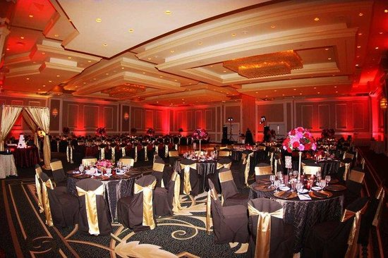 Hilton St Petersburg Bayfront: Wedding Setup
