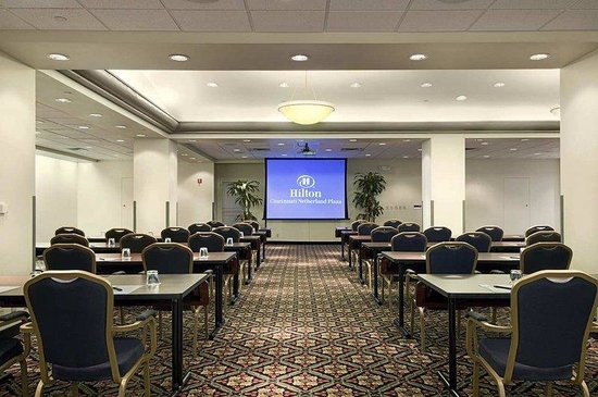 Hilton Cincinnati Netherland Plaza: Hilton Meetings-Mtg. Room